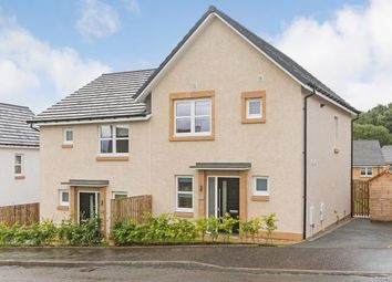 Thumbnail 3 bed semi-detached house for sale in Castlehill Crescent, Ferniegair, Hamilton, South Lanarkshire