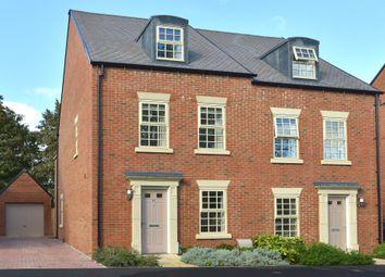 Thumbnail 4 bed semi-detached house for sale in Godfrey Place, Upper Rissington, Cheltenham
