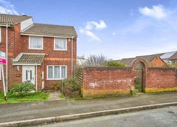 Thumbnail 3 bedroom end terrace house for sale in Yeo Close, Efford, Plymouth