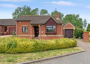Thumbnail 2 bedroom detached bungalow for sale in Barley Meadow, Halesworth