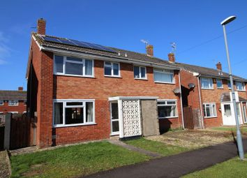 Thumbnail 3 bed semi-detached house for sale in Laburnum Walk, Keynsham, Bristol