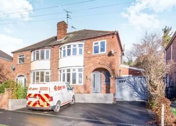 Thumbnail 3 bed semi-detached house for sale in Anstey Lane, Leicester, Leicestershire, England