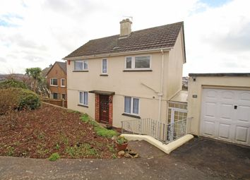 Thumbnail 3 bed detached house for sale in Seymour Road, Mannamead, Plymouth