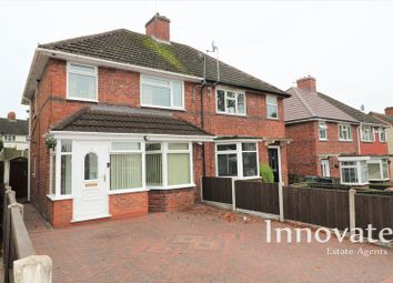 Thumbnail 3 bed semi-detached house for sale in Hamilton Road, Bearwood, Smethwick