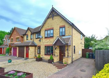 Thumbnail 3 bed semi-detached house for sale in Blethan Drive, Stukeley Meadows, Huntingdon, Cambridgeshire