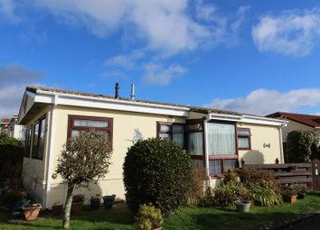 Thumbnail 2 Bed Mobile Park Home For Sale In Glenhaven Helston