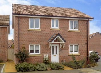 Thumbnail 3 bed detached house for sale in Malone Avenue, Swindon