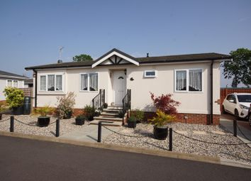Thumbnail 2 bedroom mobile/park home for sale in East Beach Park, Shoeburyness, Southend-On-Sea