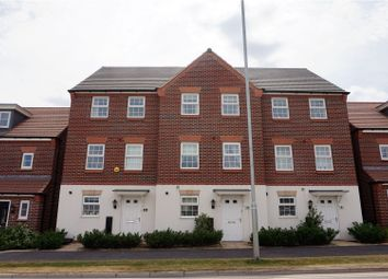 Thumbnail 3 bed town house for sale in Silverwoods Way, Kidderminster