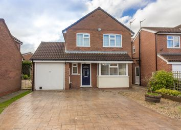 Thumbnail 4 bedroom detached house for sale in Rockingham Close, Warrington