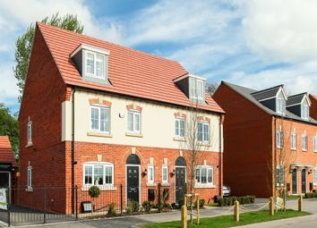 "Thumbnail 4 bed semi-detached house for sale in ""The Leicester"" at Brookside, East Leake, Loughborough"