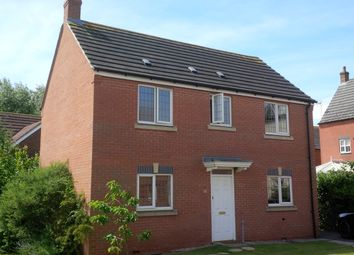 Thumbnail 3 bed detached house to rent in Syerston Way, Newark