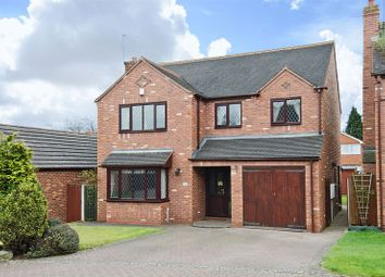 Thumbnail 4 bed detached house for sale in Brereton Manor Court, Brereton, Rugeley