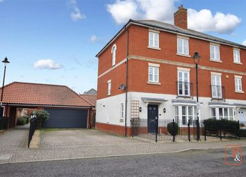 Thumbnail 5 bed semi-detached house for sale in Mansbrook Boulevard, Ipswich