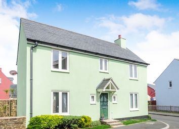 Thumbnail 4 bedroom detached house for sale in Greenhill Road, Plymstock, Plymouth