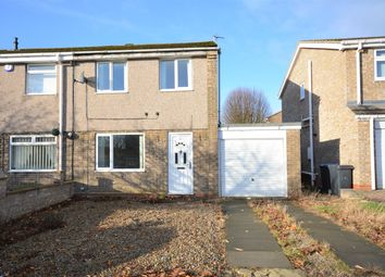 Thumbnail 3 bed semi-detached house for sale in Horsley Grove, Bishop Auckland