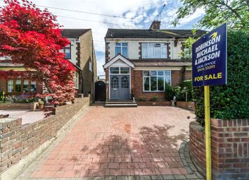Thumbnail 4 bedroom semi-detached house for sale in Wrotham Road, Gravesend, Kent