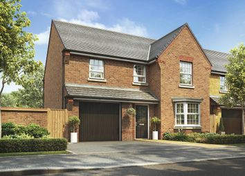 "Thumbnail 4 bed detached house for sale in ""Meriden"" at Carters Lane, Kiln Farm, Milton Keynes"