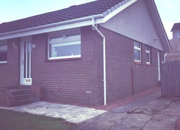 Thumbnail 3 bed semi-detached bungalow for sale in Strathleven Drive, Alexandria