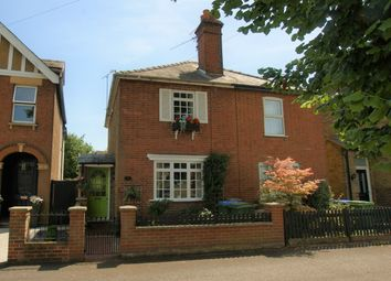 Thumbnail 2 bed semi-detached house for sale in Back Green, Hersham