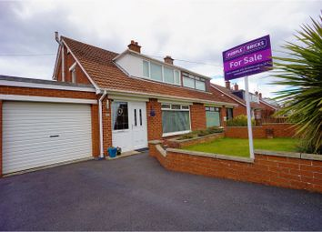 Thumbnail 3 bed semi-detached house for sale in Killeen Park, Bangor