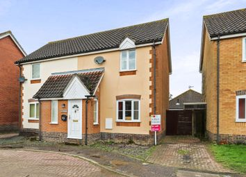 Thumbnail 2 bed semi-detached house for sale in Yew Tree Road, Attleborough
