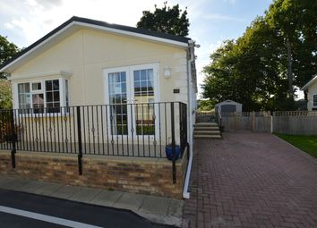 Thumbnail 2 bed mobile/park home for sale in Hancocks, Cot Lane, Biddenden, Ashford