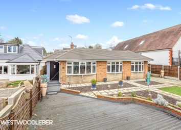 Thumbnail 4 bed detached bungalow for sale in Hamlet Hill, Roydon, Harlow