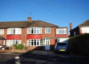 Thumbnail 5 bedroom semi-detached house for sale in Kilnshaw Place, North Gosforth, Newcastle Upon Tyne