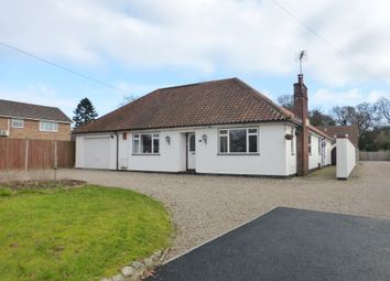 Thumbnail 3 bed detached bungalow for sale in Stocks Lane, Blofield, Norwich