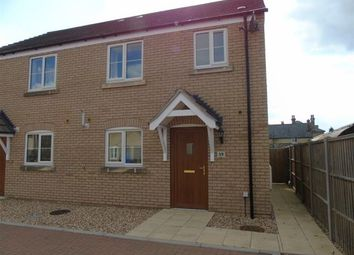 Thumbnail 3 bedroom semi-detached house to rent in Fox Wood North, Soham, Ely