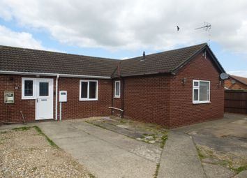 Thumbnail 2 bedroom terraced bungalow for sale in Scotts Close, Skegness