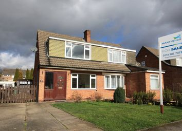 Thumbnail 3 bed semi-detached house for sale in Fairburn Drive, Garforth, Leeds
