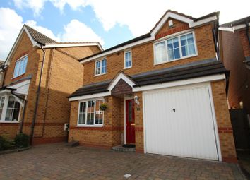 Thumbnail 3 bed detached house for sale in Churchward Drive, Stretton, Burton-On-Trent