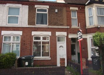 Thumbnail 4 bedroom terraced house to rent in Gulson Road, Coventry