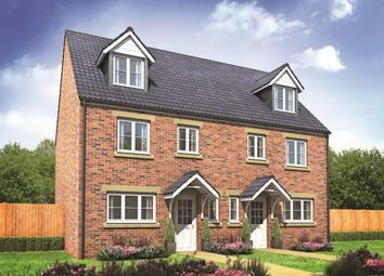 "Thumbnail 4 bed end terrace house for sale in ""The Leicester"" at City Fields Way, Tangmere, Chichester"