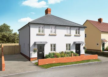 Thumbnail 2 bedroom semi-detached house for sale in School Lane, Broughton, Hampshire