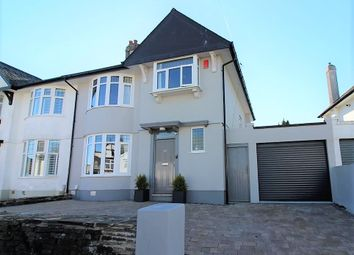 Thumbnail 3 bed semi-detached house for sale in Torland Road, Hartley, Plymouth