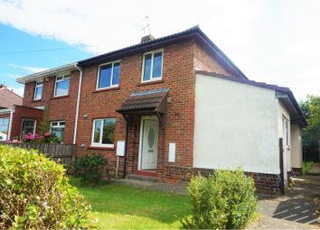Thumbnail 3 bedroom semi-detached house to rent in Dunelm Road, Consett