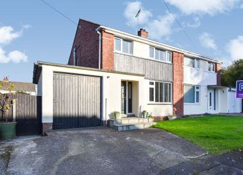 Thumbnail 3 bed semi-detached house for sale in Brigbourne Drive, Workington