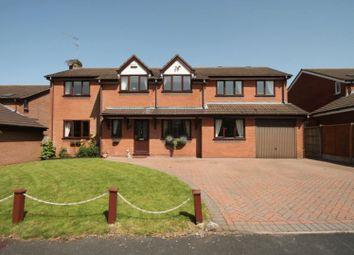 Thumbnail 4 bed detached house for sale in Alder Close, Loggerheads, Market Drayton