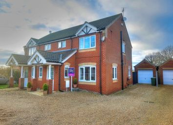 Thumbnail 3 bed semi-detached house for sale in Chapel Road, Beighton, Norwich