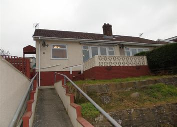 Thumbnail 2 bed semi-detached bungalow to rent in Arran Close, Risca, Newport