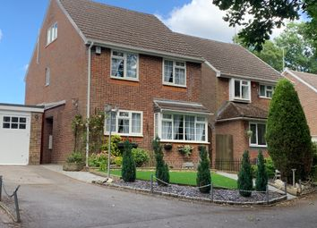 Thumbnail 4 bed detached house for sale in Meadow View, Bordon