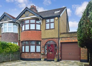 Thumbnail 4 bed semi-detached house for sale in Malden Road, Cheam, Surrey