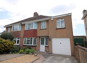 Thumbnail 4 bed semi-detached house for sale in Lucas Lane, Plympton, Plymouth