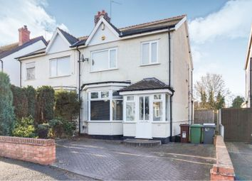 Thumbnail 3 bed semi-detached house for sale in Leighton Road, Wolverhampton