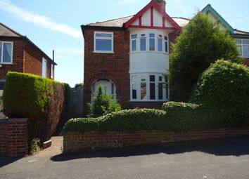 Thumbnail 3 bed semi-detached house for sale in Sandhurst Road, Off Glenfield Road, Leicester