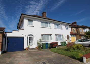 Thumbnail 3 bed semi-detached house to rent in Fernbrook Drive, Harrow