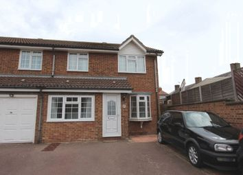 Thumbnail 4 bed semi-detached house for sale in Groveside Close, Carshalton